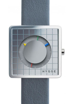 HYGGE 2089 Limited Edition L7 Subtime Grey Leather/Grey Circle