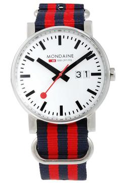 Mondaine Limited Edition Evo NATO Strap