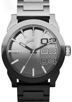 Diesel Double Down Ombr Stainless Steel Black Steel Watch