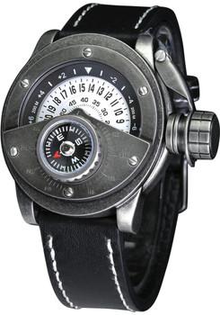Retrowerk Compass Antique Steel/Black