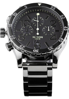 Nixon 48-20 Chrono Polished Gun/Lum (A4861885)