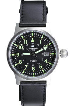 Aeromatic Limited Edition Automatic Black/Steel