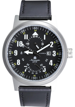 Aeromatic Retro Pilot 24 hour Power Reserve Automatic