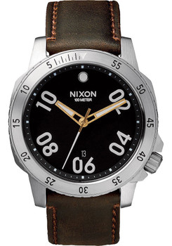 Nixon Ranger Leather Black/Brown