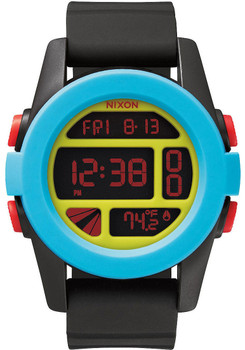 Nixon Unit Black/Blue/Charteuse