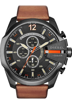 Diesel Mega Chief Chronograph Black/Brown