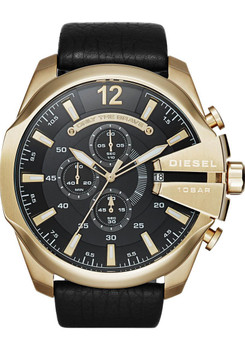 Diesel Mega Chief Chronograph DZ4344 Black/Gold