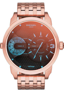 Diesel DZ7336 Mini Daddy Rose Gold/Iridescent