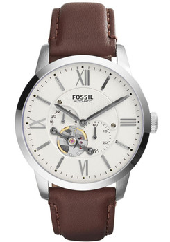 Fossil ME3064 Townsman Leather Automatic Brown/Creme