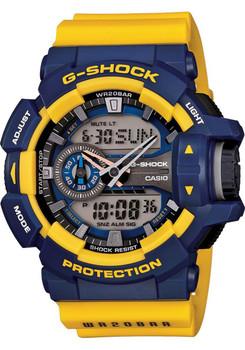 G-Shock GA-400 Series Worldtime -Navy/Gold