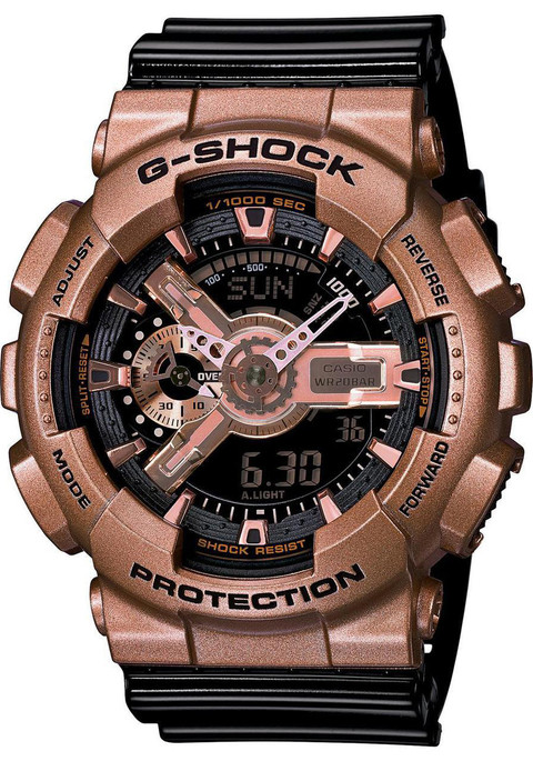 G-Shock XL Classic Black/Rose Gold -Limited Edition