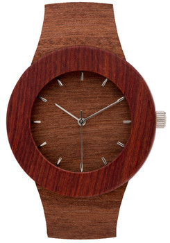 Analog Watch Co. Makore & Red Sanders Wood Marker (ANALOG-UPM)