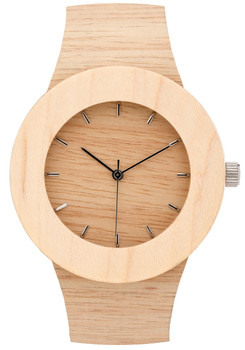 Analog Watch Co. Silverheart & Maple Wood Marker (ANALOG-UPS)