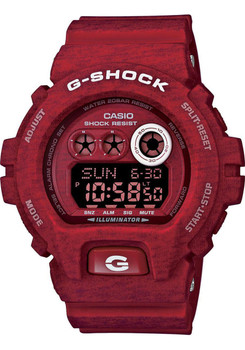G-Shock GDX-6900 Heathered Series - Red