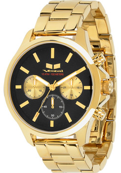 Vestal Heirloom Chronograph Gold/Black