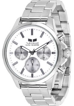 Vestal Heirloom Chronograph Silver/White