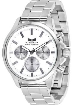 Vestal Heirloom Chronograph Silver/White