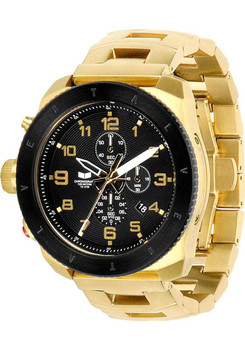 Vestal Restrictor Chronograph Black/Gold RES013