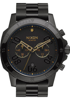 Nixon Ranger Chrono Black Gold