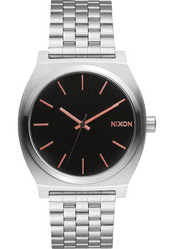 Nixon Time Teller SS Gray Rose Gold