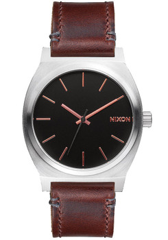 Nixon Time Teller Grey Rose Gold Brown