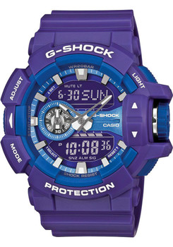 G-Shock GA-400 Series Worldtime -Purple