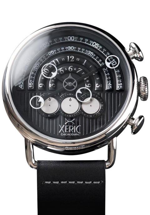 Xeric Halograph Chrono Black/Silver (HGC-3014)