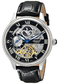 Ingersoll Dual Time Skeleton Ltd. Edition Black