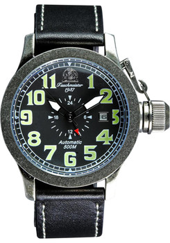 Tauchmeister Military Raw Steel Diver Luminous Automatic