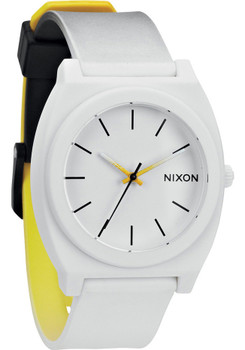 Nixon Time Teller P Black/White/Yellow Fade