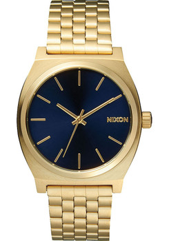 Nixon Time Teller SS Gold Cobalt