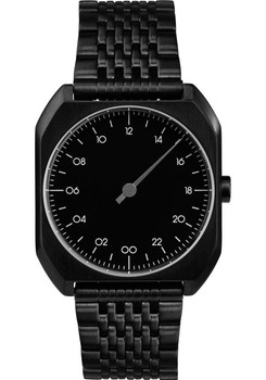 Slow Mo 03 One Hand All Black Steel Black Dial