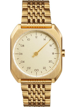Slow Mo 04 One Hand All Gold Steel Gold Dial