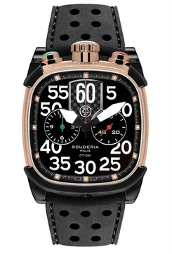 CT Scuderia Scrambler Chronograph Rose Gold