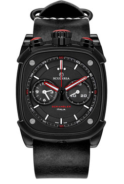 CT Scuderia Scrambler Chronograph Black/Red