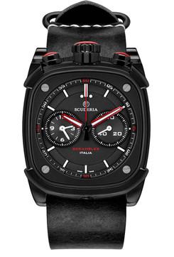 CT Scuderia Scrambler Chronograph Black/Red