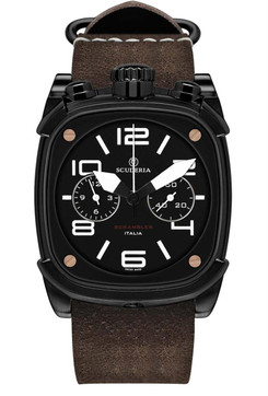 CT Scuderia Scrambler Chronograph Brown/Black