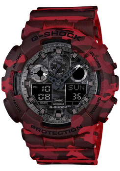 G-Shock Classic X-Large Red Camo - Limited Edition