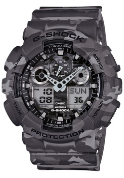 G-Shock Classic X-Large Grey Camo - Limited Edition