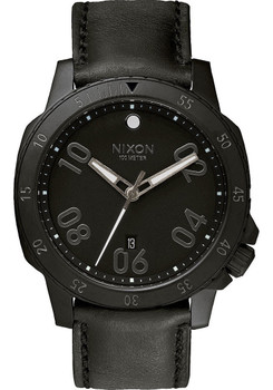Nixon Ranger Leather All Black
