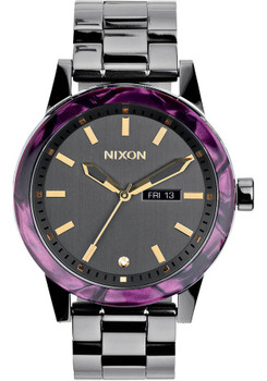 Nixon Spur Gunmetal Velvet
