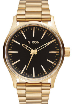 Nixon Sentry 38 SS Gold/Black Sunray