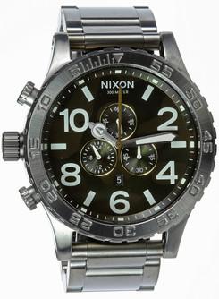 Nixon 51-30 Chrono Gunmetal Oxyde