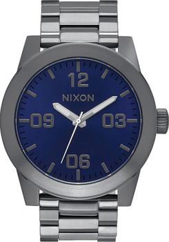 Nixon Corporal SS Gunmetal/Cobalt Blue Sunray