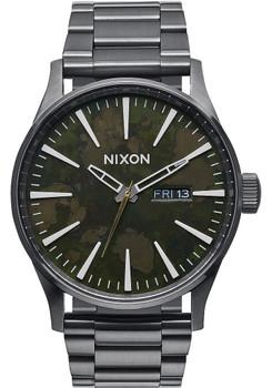 Nixon Sentry SS Gunmetal/Green Oxyde