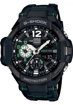 G-Shock Gravitymaster Aviation Black/Green