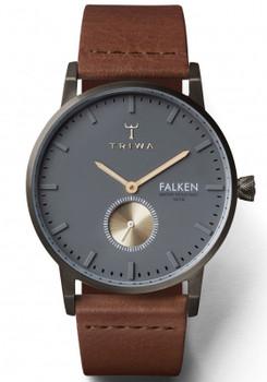 Triwa Walter Falken Gunmetal/Brown Classic