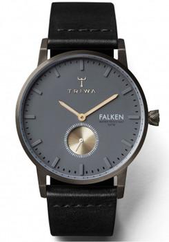 Triwa Walter Falken Gunmetal/Black Classic