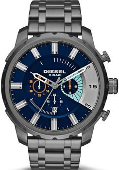 Diesel Stronghold Gunmetal Chronograph