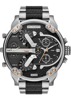 Diesel Mr. Daddy 2.0 Stainless Steel- Silver